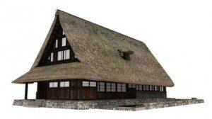 3D化された国の重要文化財「村上家」