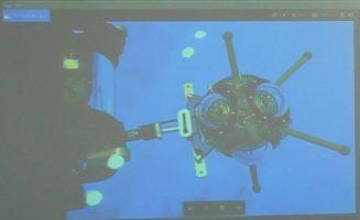 【 水深1,000mまで撮影可能なVRカメラ 】